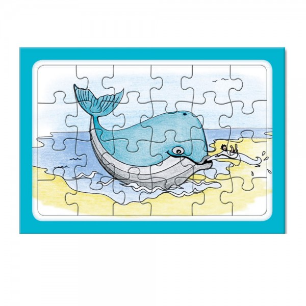 Rahmen-Puzzle A6 24 Teile