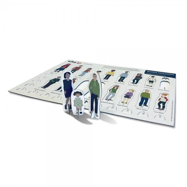 Stanztableau für Spielfiguren DIN A6 (105x148 mm)