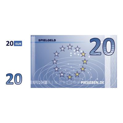 20 Euro (Blau)