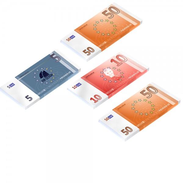 Spielgeld Euronoten Maxi Format 163 x 88 mm