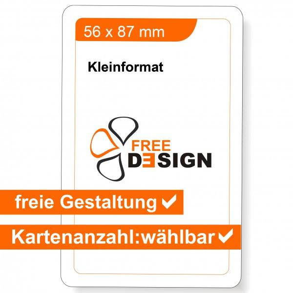 Spielkarten individuell 56x87 mm