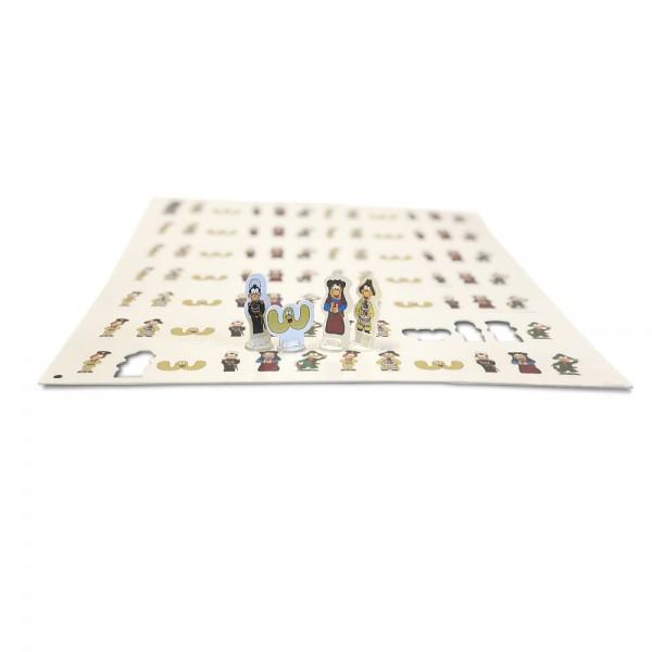 Stanztableau für Spielfiguren DIN A3 (297x410 mm)
