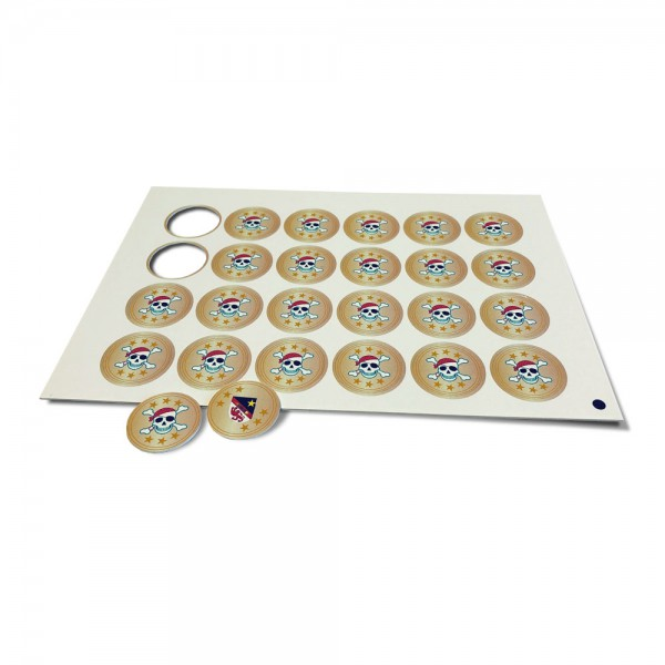 Spielgeld als Münzen 40 mm