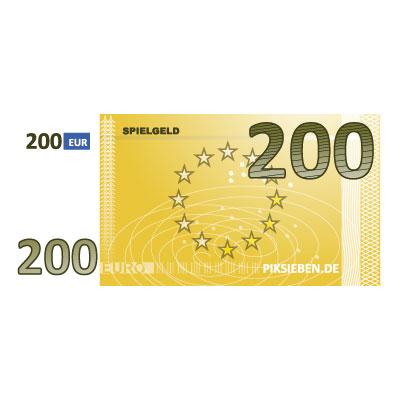 200 Euro (Gelb)