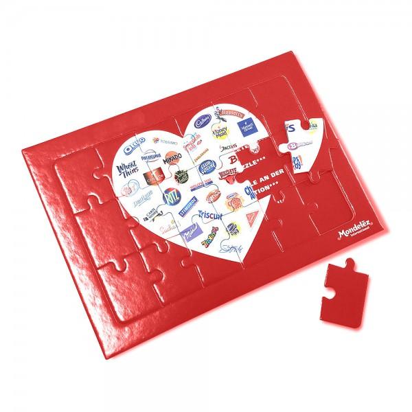 Rahmen-Puzzle A5 18 oder 24 Teile