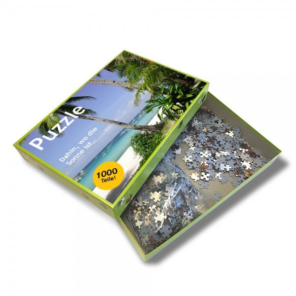 Puzzle 1000 Teile 970 x 340 mm Panorama